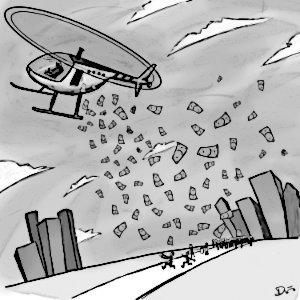 helicóptero-dinero