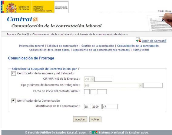 Sistema Contrat@ Comunicación