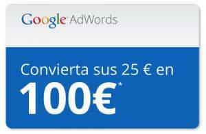 Promoción invierte 25€ y te regalamos 75€ de publicidad gratuita