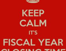 Apertura y cierre del ejercicio fiscal y contable en Odoo OpenERP