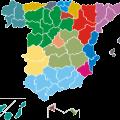 Lista de provincias - fuente INE