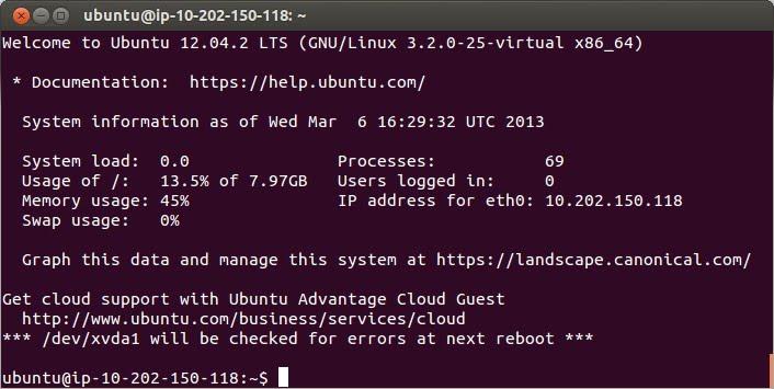 Consola comandos linux